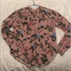 Ann Taylor XS extra small long sleeve blouse.